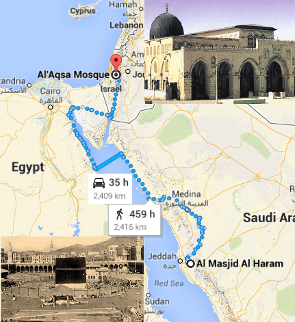 aqsa to makkah